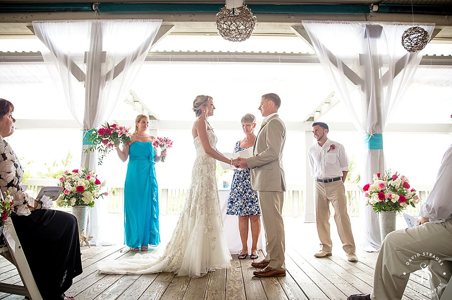 Double head resort wedding