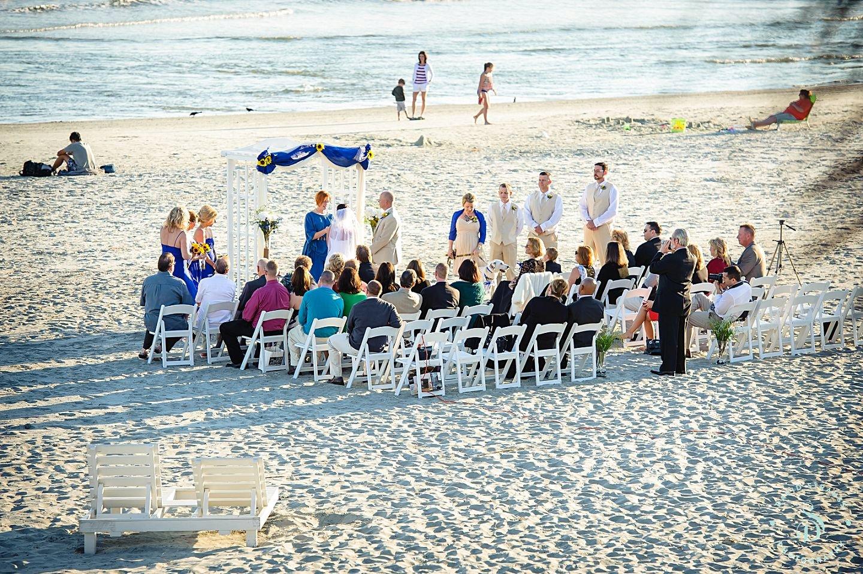Beach Weddings Folly Wedding Photography Brenna And David